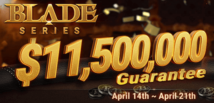 $11,500,000 Guaranteed at the BLADE Series at GG Network