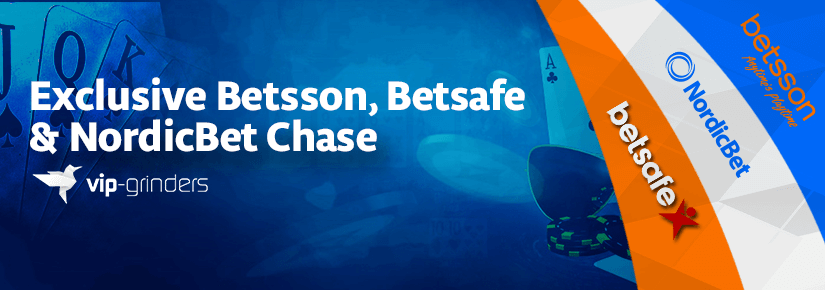 Betsson, Exclusivo Betsafe e Nordicbet Chase