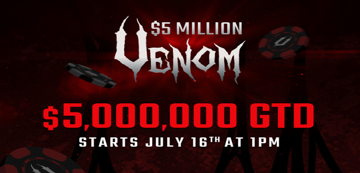 Americas Cardroom wants you to play in their $5 Million Venom for free