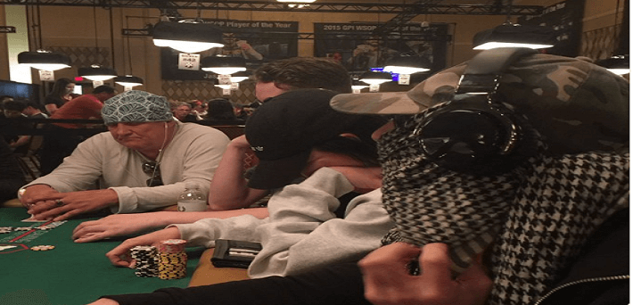Masked men fall foul of World Series of Poker rules