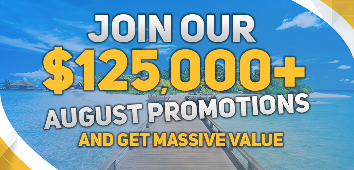 More than €125,000 GTD in Exclusive VIP-Grinders Promotions August!