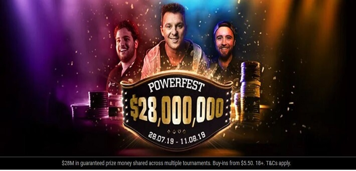 partypoker Powerfest X kicks off this Sunday with a staggering prize pool of $28,000,000 GTD!