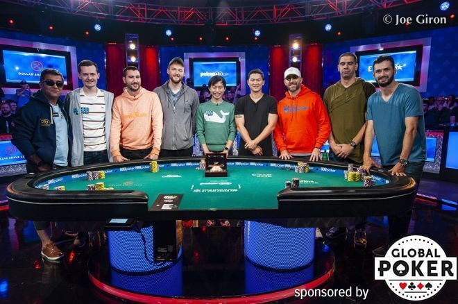 Finalistas WSOP Main Event 2019 poker