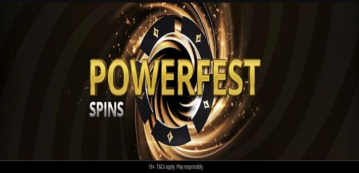 Turn $5 within a few minutes into a $1,050 POWERFEST ticket in the Powerfest SPINS!