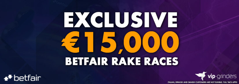 Exclusive €15,000 Betfair Races October