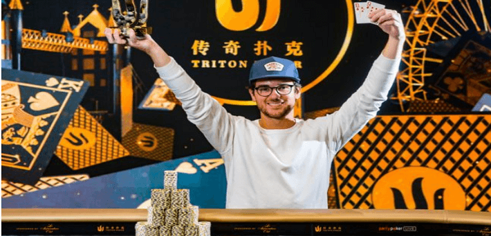 David Benefield wins £25K Short Deck event and finishes 2nd in £50K Short Deck event as Triton High Roller Series ends in London