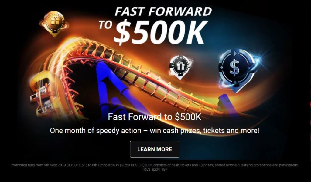 Fast Forward to $500,000 at partypoker