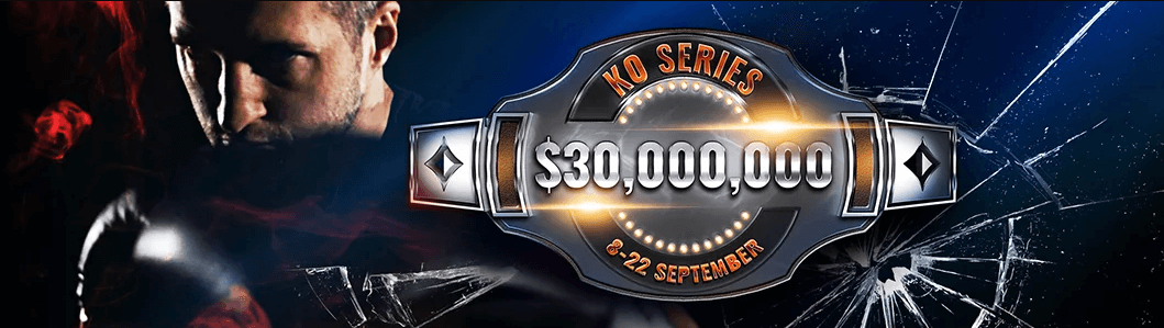 More than $30,000,000 Guaranteed Partypoker KO Series