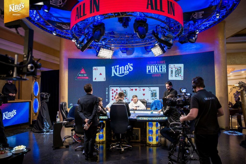 2019 WSOP Europe Main Event Final Table