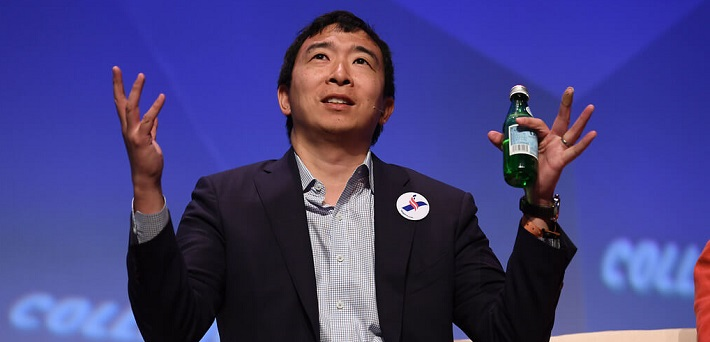 US presidential candidate Andrew Yang to play poker in fundraising event