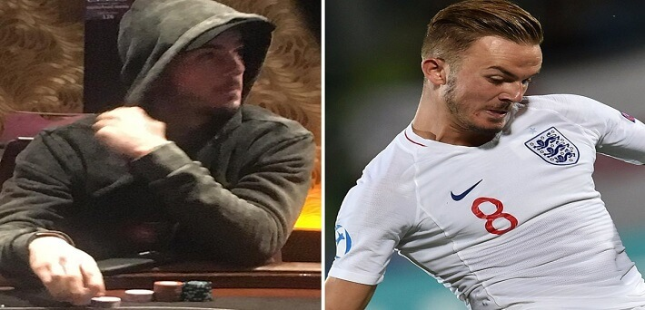 English-football-star-James-Maddison-busted-playing-poker-while-being-out-with-illness