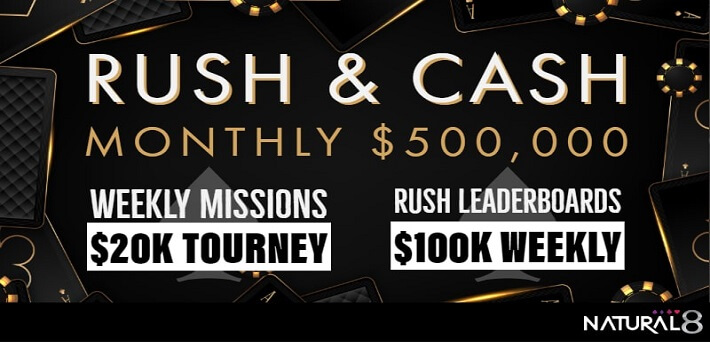 $500,000 Rush & Cash and $100,000 Omahafest at GG Network