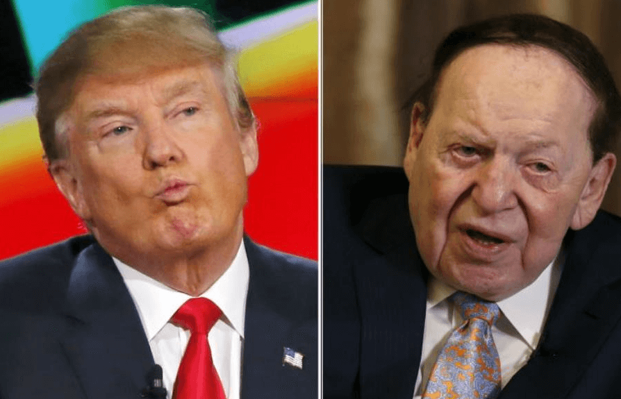 Trump & Adelson