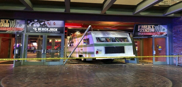 Woman-crashes-motorhome-into-Cannery-Casino-after-being-thrown-out