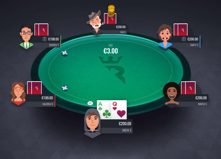 Run It Once Poker Table