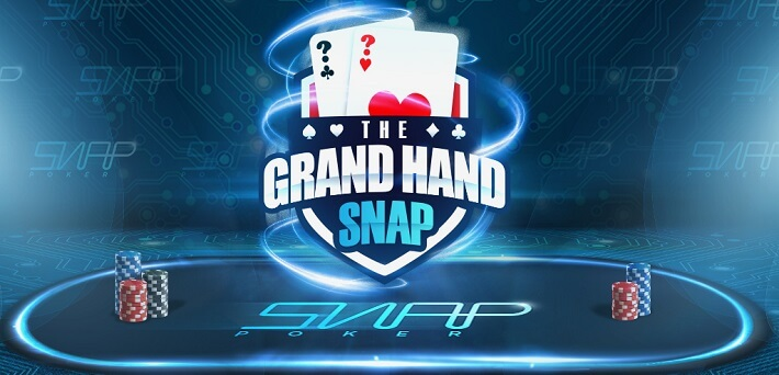 Win up tp $1,000 EVERY DAY in the 888 Poker Grand Hand SNAP