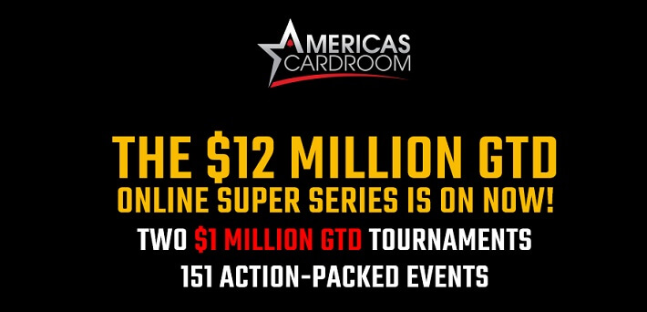 The $12 Million GTD Online Super Series is on now!