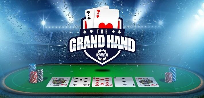 Win up tp $1,000 every day in the 888Poker Grand Hand Special Edition!