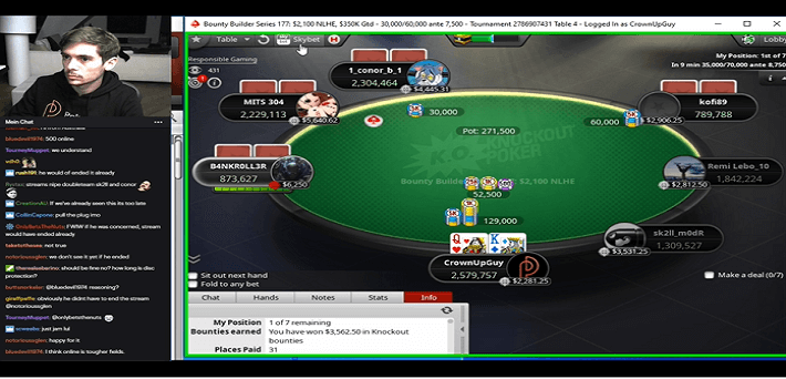 Watch Fedor Holz making 2 Sunday Major Final Tables live on Twitch Poker!