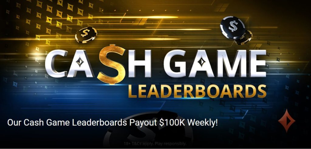 partypoker launches massive $600,000 Cash Game Leaderboards!