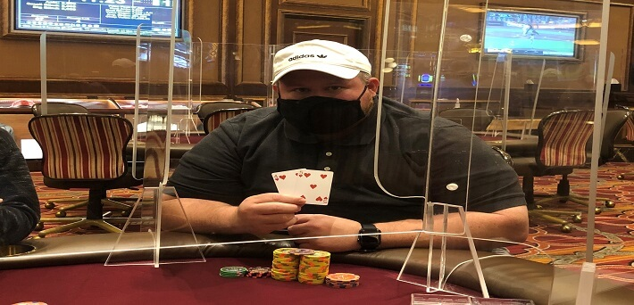 $332,000 Bad Beat Jackpot cracked at Venetian with Straight Flush vs. Straight Flush!