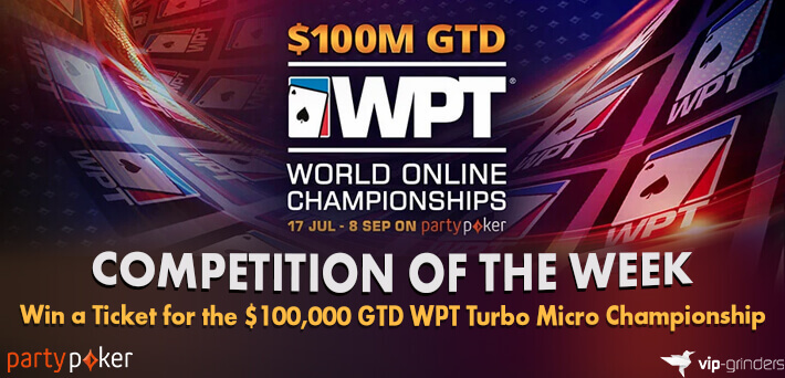 Like and Share this post on our Social Media and win a $100,000 WPT Turbo Micro Championship Ticket
