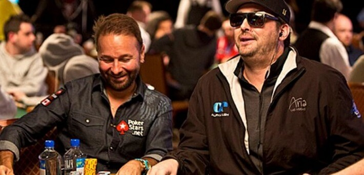 Bookies favour Phil Hellmuth over Daniel Negreanu in heads-up match