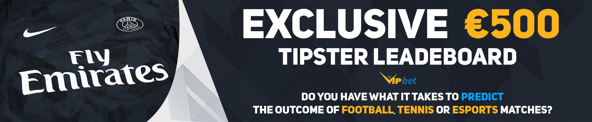 VIP-bet tipster leaderboard